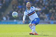 Matty Done during the EFL Sky Bet League 1 match between Portsmouth and Rochdale at Fratton Park, Portsmouth, England on 13 April 2019.