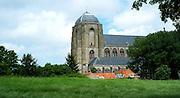 Grote Kerk in Veere, Zeeland. Kerk wordt niet meer als kerk gebruikt maar als ruimte voor culturele activiteiten. - Church in Veere, Zeeland, Netherlands. Church is not in use as church anymore but as a space voor cultural activities