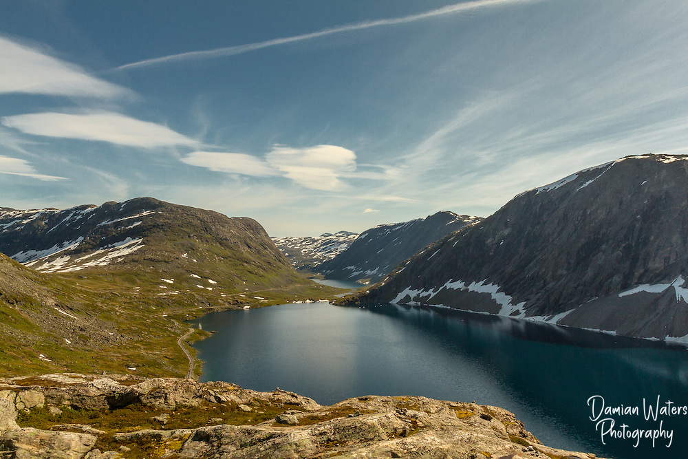 Djupvatnet lakfe from Dalsnibba, Norway - August