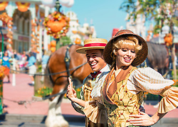 Disney Performers Dance On The Streets