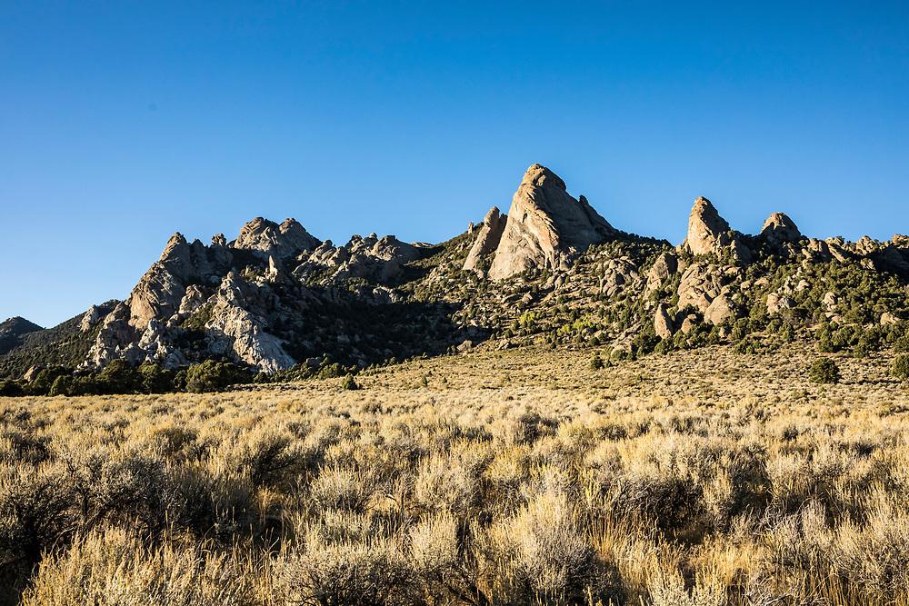 City of Rocks National Reserve, Idaho, USA.