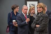 MAYOR OF NEW YORK MICHAEL BLOOMBERG , VIP Opening of Frieze Masters. Regents Park, London. 9 October 2012