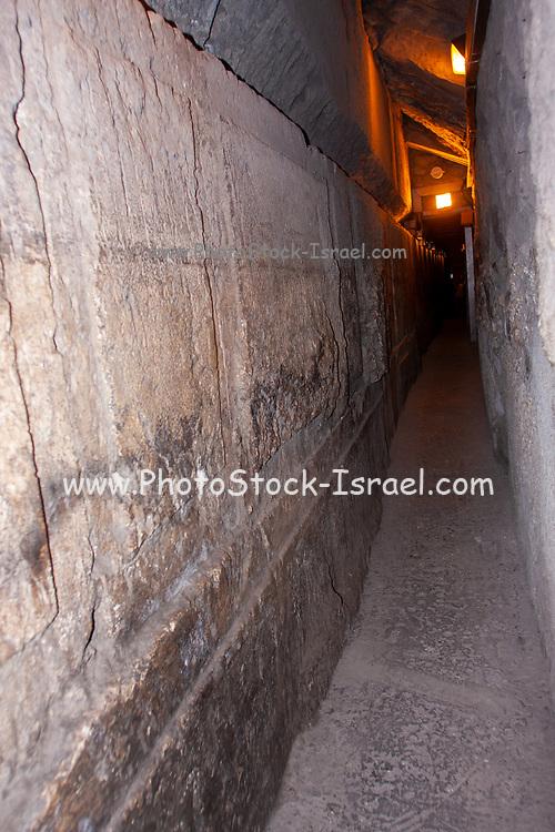 Israel, Jerusalem, Old City,The Western Wall Tunnels