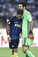 Martin Eder-Gianluigi Buffon<br /> Milano 18-09-2016 Stadio Giuseppe Meazza - Football Calcio Serie A Inter - Juventus. Foto Daniele Buffa / Image Sport / Insidefoto