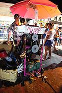Ice cream machine in Bayamo, Granma Province, Cuba.