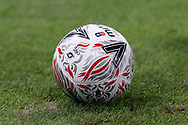 The match ball during The FA Cup 3rd round match between Crystal Palace and Grimsby Town FC at Selhurst Park, London, England on 5 January 2019.