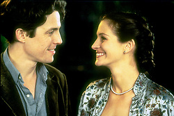 May 13, 1999; Hollywood, CA, USA; JULIA ROBERTS as Anna Scott and HUGH GRANT as William Thacker in the romantic comedy ''Notting Hill'' directed by Roger Mitchell.  (Credit Image: © Courtesy of Bookshop Productions/Entertainment Pictures/ZUMAPRESS.com)