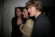 Jessica de Rothschild, Louise Delamere and Julian Rhind-Tutt , Tom Cairns directs Almeida Fundraising Benefit sponsored by Coutts and Co. -A Chain Play by Samuel Adamson, Moira Buffini, David Hare, Charlotte Jones, Frank McGuinness and Roy Williams. Almeida theatre. London. 23 March 2007.  -DO NOT ARCHIVE-© Copyright Photograph by Dafydd Jones. 248 Clapham Rd. London SW9 0PZ. Tel 0207 820 0771. www.dafjones.com.