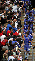 Photo: Paul Thomas.<br /> Chelsea v Manchester United. The FA Cup Final. 19/05/2007.<br /> <br /> Captain John Terry leads Chelsea down as champions.