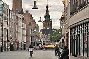 Nederland, Nijmegen, 6-10-2020 Straatbeeld van deze stad in Gelderland . Winkelstraat in het centrum van de stad . Vanwege de coronmaatregelen is het rustig op straat . Foto: ANP/ Hollandse Hoogte/ Flip Franssen
