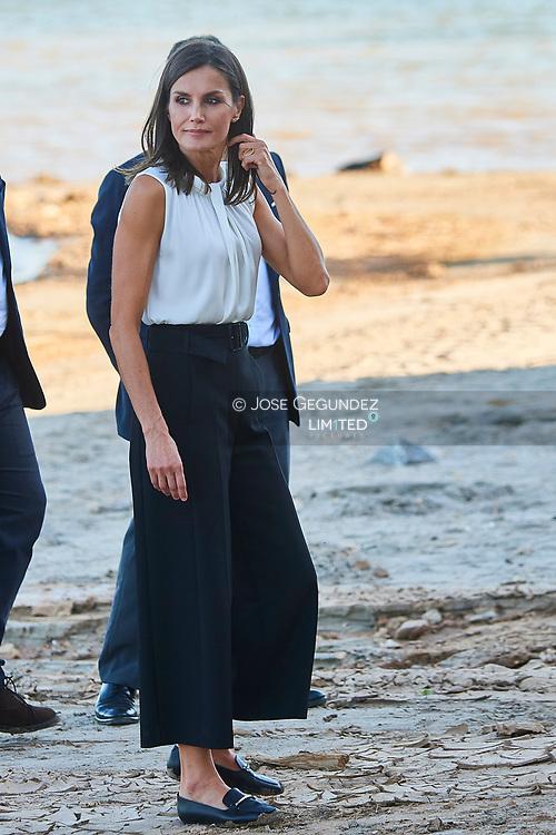 Queen Letizia of Spain visit Los Alcazares (Murcia) after the September floods on October 4, 2019, Spain