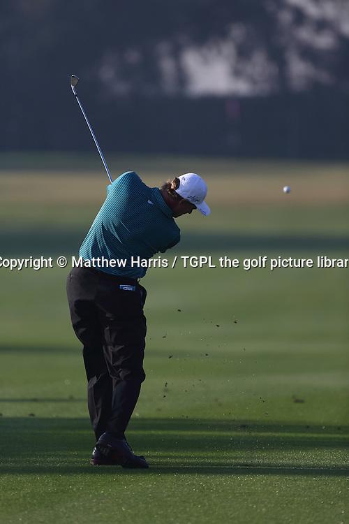 Ernie ELS (RSA) during second round Commercialbank Qatar Masters 2014,Doha Golf Club,Doha,Qatar.