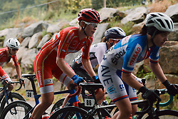Julie Leth (DEN) at the 2020 UEC Road European Championships - Elite Women Road Race, a 109.2 km road race in Plouay, France on August 27, 2020. Photo by Sean Robinson/velofocus.com