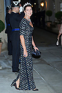 101912 grand duches of luxembourg royal wedding - gala dinner