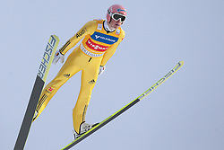 25.11.2012, Lysgards Schanze, Lillehammer, NOR, FIS Weltcup, Ski Sprung, Herren, im Bild Freund Severin (GER) during the mens competition of FIS Ski Jumping Worldcup at the Lysgardsbakkene Ski Jumping Arena, Lillehammer, Norway on 2012/11/25. EXPA Pictures © 2012, EXPA/ Federico Modica