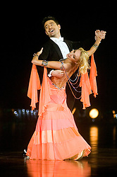 Tom Chambers and Camilla Dallerup dance during the Strictly Come Dancing live show at Sheffield Arena 29 January 2009 © Paul David Drabble