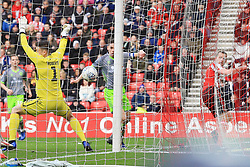March 16, 2019 - Sunderland, Tyne and Wear, United Kingdom - Sunderland's Lee Cattermole (right) scoring his side's first goal during the Sky Bet League 1 match between Sunderland and Walsall at the Stadium Of Light, Sunderland on Saturday 16th March 2019. (Credit: Steven Hadlow   MI News) (Credit Image: © Mi News/NurPhoto via ZUMA Press)
