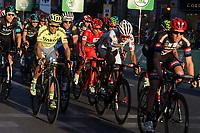 Spanish cyclist Alberto Contador of Tinkof Saxo team and Nairo Quintana during the last stage or La Vuelta of Spain in Madrid. September 10, 2016. (ALTERPHOTOS/Rodrigo Jimenez)
