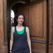 Piccolo Teatro Grassi, Milano, Italia, 1 Aprile 2021. Chiara Tirone, 32 anni, attrezzista macchinista.