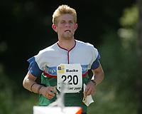 Orientering, 21. juni 2002. NM sprint. Kristian Ruud, Østmarka.