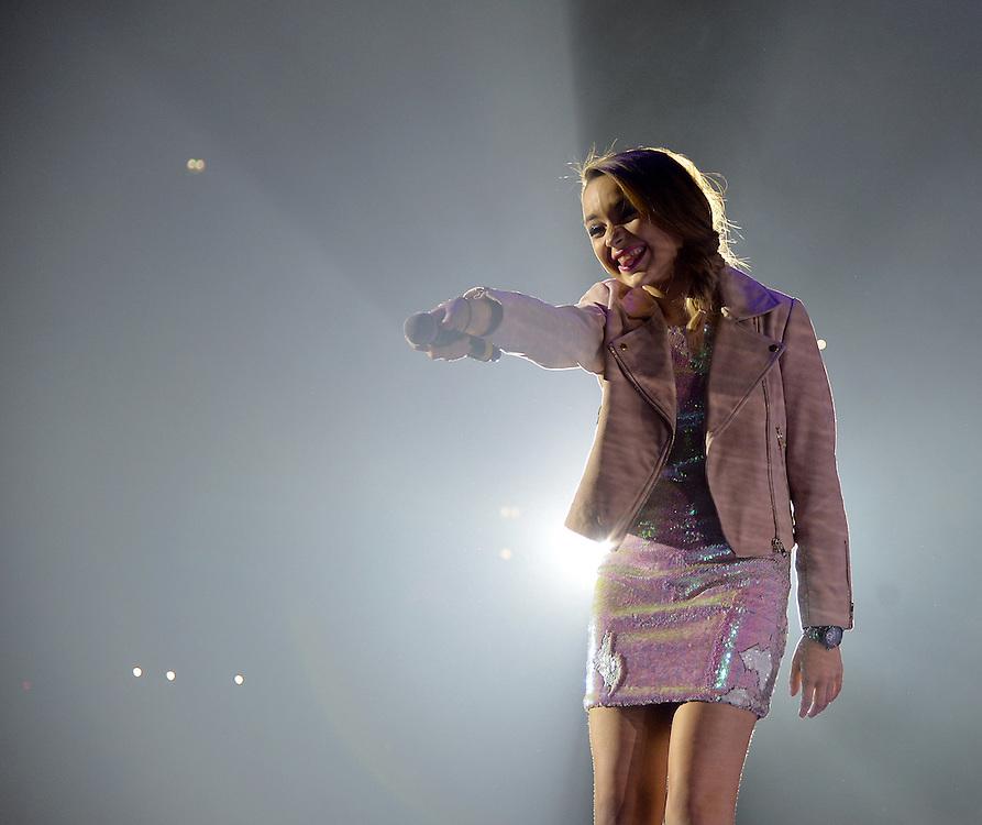 Lauren Platt  THE X FACTOR LIVE TOUR.Manchester Arena <br />Pix Dave Nelson