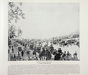 """A year After Death from The American Civil War book and Grant album : """"art immortelles"""" : a portfolio of half-tone reproductions from rare and costly photographs designed to perpetuate the memory of General Ulysses S. Grant, depicting scenes and incidents in connection with the Civil War Published  in Boston and New York by W. H. Allen in 1894"""