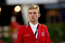 Philippaertsd Nicola, BELBalsiger Bryan, SUI<br /> Longines FEI Jumping Nations Cup™ Final<br /> Barcelona 20128<br /> © Hippo Foto - Dirk Caremans<br /> 05/10/2018