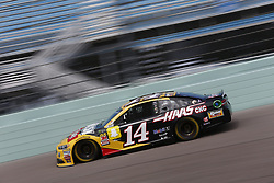 November 17, 2018 - Homestead, Florida, U.S. - Clint Bowyer (14) takes to the track to practice for the Ford 400 at Homestead-Miami Speedway in Homestead, Florida. (Credit Image: © Justin R. Noe Asp Inc/ASP)