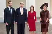Spaans Kongspaar brengt bezoek aan Nederland