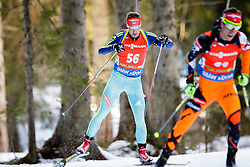 Oleksander Zhyrnyi (UKR) competes during Men 12,5 km Pursuit at day 3 of IBU Biathlon World Cup 2015/16 Pokljuka, on December 19, 2015 in Rudno polje, Pokljuka, Slovenia. Photo by Ziga Zupan / Sportida
