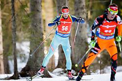Oleksander Zhyrnyi (UKR) competes during Men 12,5 km Pursuit at day 3 of IBU Biathlon World Cup 2015/16 Pokljuka, on December 19, 2015 in Rudno polje, Pokljuka, Slovenia. Photo by Ziga Zupan / Sportida