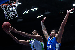November 8, 2017 - Saint Petersburg, Russia - Sammy Mejia of Tofas Bursa (L) and Drew Gordon of Zenit St. Petersburg vie for the ball during the EuroCup Round 5 regular season basketball match between Zenit St. Petersburg and Tofas Bursa at the Yubileyny Sports Palace in St. Petersburg, Russia, November 08, 2017. (Credit Image: © Igor Russak/NurPhoto via ZUMA Press)
