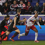 Thierry Henry, New York Red Bulls, in action during the New York Red Bulls Vs Toronto FC, Major League Soccer regular season match at Red Bull Arena, Harrison, New Jersey. USA. 11th October 2014. Photo Tim Clayton