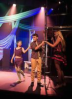 Pippen dress rehearsal at St Paul's School.  Karen Bobotas Photographer