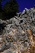 Aenos (Ainos) mountain and forest on the Greek Island of Cephalonia, Ionian Sea, Greece