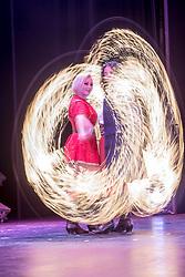 Bolas Argentinas. Cirque Berserk! photocall at the at the Festival Theatre, Edinburgh.