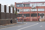 Old industrial buildings in Deritend area near the city centre on 3rd August 2020 in Birmingham, United Kingdom. Deritend is a historic area of Birmingham. It is first mentioned in 1276. Today Deritend is usually considered to be part of Digbeth. Digbeth is an area of Central Birmingham. Following the destruction of the Inner Ring Road, Digbeth is now considered a district within Birmingham City Centre. As part of the Big City Plan, Digbeth is undergoing a large redevelopment scheme that will regenerate the old industrial buildings into apartments, retail premises, offices and arts facilities. There is still however much industrial activity in the south of the area.