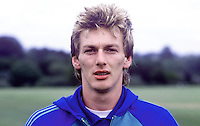Alan McDonald, Queen's Park Rangers, footballer, possible N Ireland cap, 19840088AMD1.<br /> <br /> Copyright Image from Victor Patterson, Belfast, UK<br /> <br /> t: +44 28 9066 1296 (from Rep of Ireland 048 9066 1296)<br /> m: +44 7802 353836<br /> e: victorpattersonbelfast@gmail.com<br /> <br /> www.images4media.com<br /> <br /> Please see my full Terms and Conditions of Use at https://www.images4media.com/p/terms-conditions - it is IMPORTANT that you familiarise yourself with them.<br /> <br /> Images used online incur an additional cost. This cost should be agreed in writing in advance. Online images must be visibly watermarked i.e. © Victor Patterson or that of the named photographer within the body of the image. The original metadata must not be deleted from images used online.<br /> <br /> This image is only available for the use of the download recipient i.e. television station, newspaper, magazine, book publisher, etc, and must not be passed on to a third party. It is also downloaded on condition that each and every usage is notified within 7 days to victorpattersonbelfast@gmail.com.<br /> <br /> The right of Victor Patterson (or the named photographer) to be identified as the author is asserted in accordance with The Copyright Designs And Patents Act (1988). All moral rights are asserted.