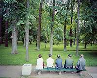 Resting in Peterhof.<br /> Foto: Svein Ove Ekornesvåg