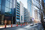 2018 FEBRUARY 12 - 2nd Avenue looking south from near Pike Street, Seattle, WA, USA. By Richard Walker