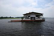 Manaus_AM, Brasil.<br /> <br /> Restaurante Flutuante Morongueta em Manaus, Amazonas.<br /> <br /> Flutuante Morongueta restaurant in Manaus, Amazonas.<br /> <br /> Foto: JOAO MARCOS ROSA / NITRO