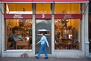 Juan C. Pallarols storefront in San Telmo, Buenos Aires, Argenting