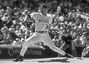Jun 29,2000; Denver, Colorado, USA;  Pitcher Gabe White of the Colorado Rockies faced 3 batters in the 8th inning against the San Francisco Giants as the Rockies defeated the Giants 11-4 at Coors Field.