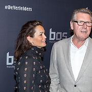 NLD/Amsterdam/20171018 - Premiere De Verleiders: Stem Kwijt, Ursul de Geer en partner