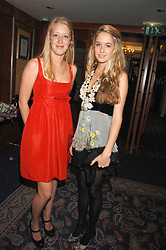 Left to right, ALICE ROTHSCHILD and FLORENCE BRUDENELL-BRUCE at the 2008 Boodles Boxing Ball in aid of the charity Starlight held at the Royal Lancaster Hotel, London on 7th June 2008.<br /> <br /> NON EXCLUSIVE - WORLD RIGHTS