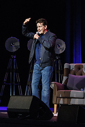AU_1392535 - Sydney, AUSTRALIA  -  Charlie Sheen in Sydney. 'An Evening with Charlie Sheen' at ICC, Sydney, Australia.<br />