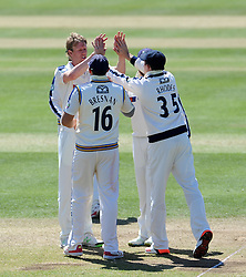 Photo mandatory by-line: Harry Trump/JMP - Mobile: 07966 386802 - 25/05/15 - SPORT - CRICKET - LVCC County Championship - Division 1 - Day 2- Somerset v Sussex Sharks - The County Ground, Taunton, England.