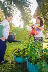 o Programa Florescer prepara crianças e adolescentes em situação de vulnerabilidade social, para o exercício da cidadania e para uma melhor qualidade de vida. FOTO: Jefferson Bernardes/ Agência Preview