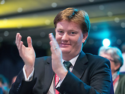 © Licensed to London News Pictures . 07/10/2014 . Glasgow , UK . DANNY ALEXANDER applauds at the conference . The Liberal Democrat Party Conference 2014 at the Scottish Exhibition and Conference Centre in Glasgow . Photo credit : Joel Goodman/LNP