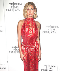 Hailey Baldwin at the premiere of 'The American Meme' in New York. 27 Apr 2018 Pictured: Hailey Baldwin. Photo credit: MEGA TheMegaAgency.com +1 888 505 6342